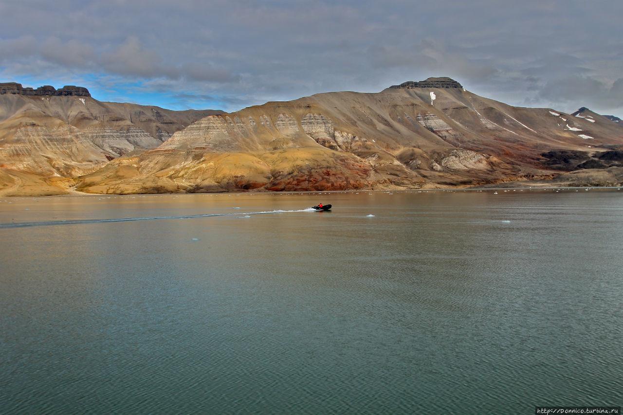 Шпицберген: Истории берегов Исфьорда