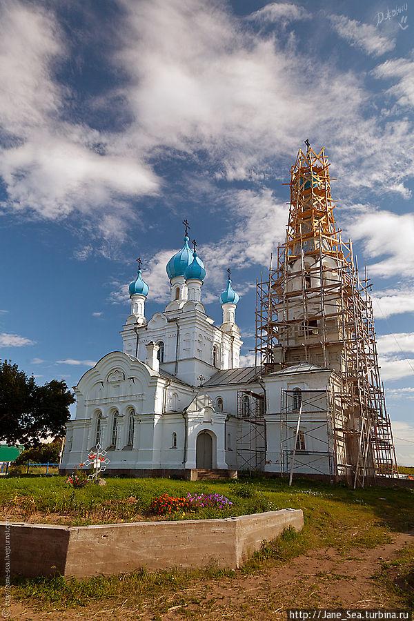 Храм Петра и Павла в селе Ветвеник