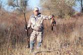 Наиль с добытым фазаном