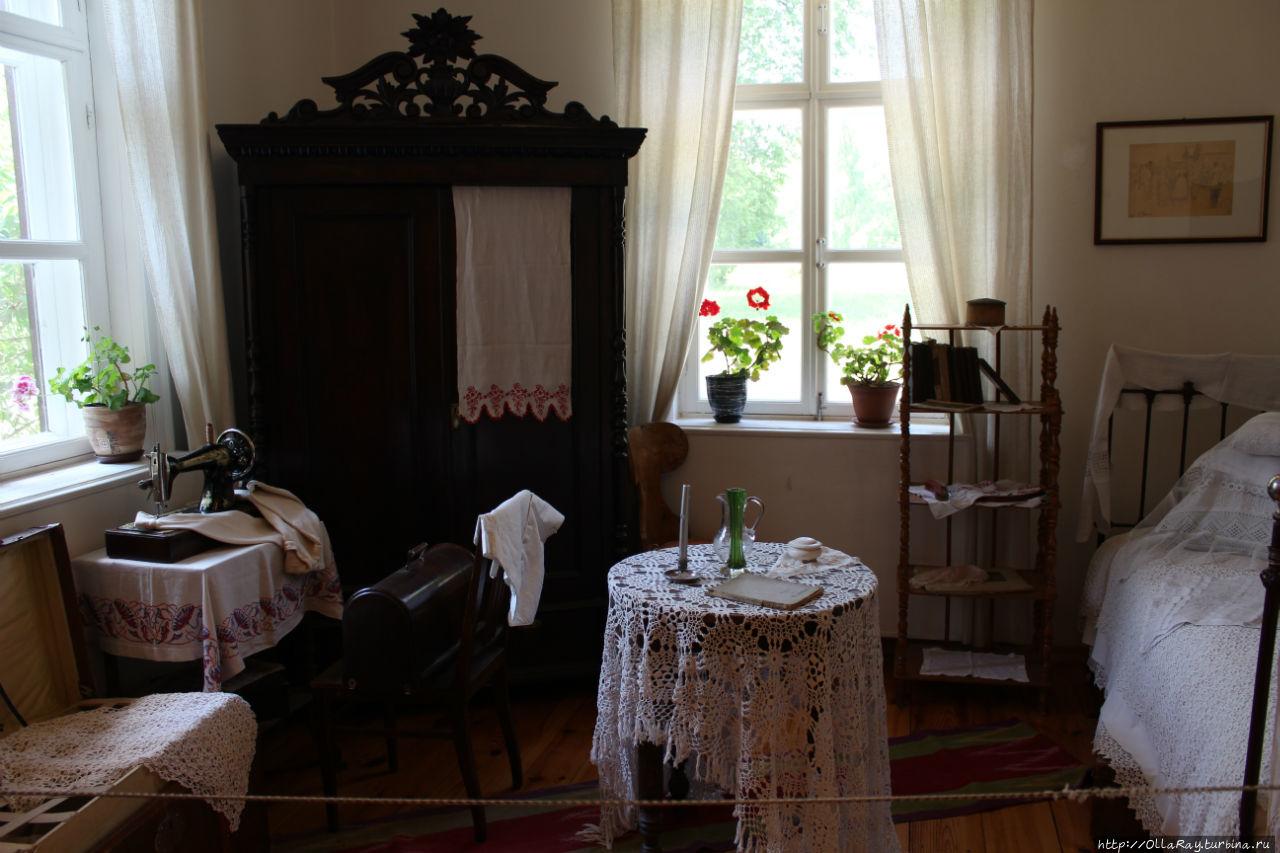 Комната, принадлежавшая одной из дочерей художника.
