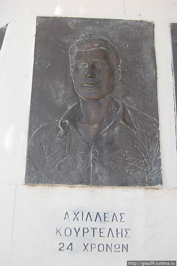 Ахиллес Коуртеллос (Αχιλλέας Κουρτελλής)