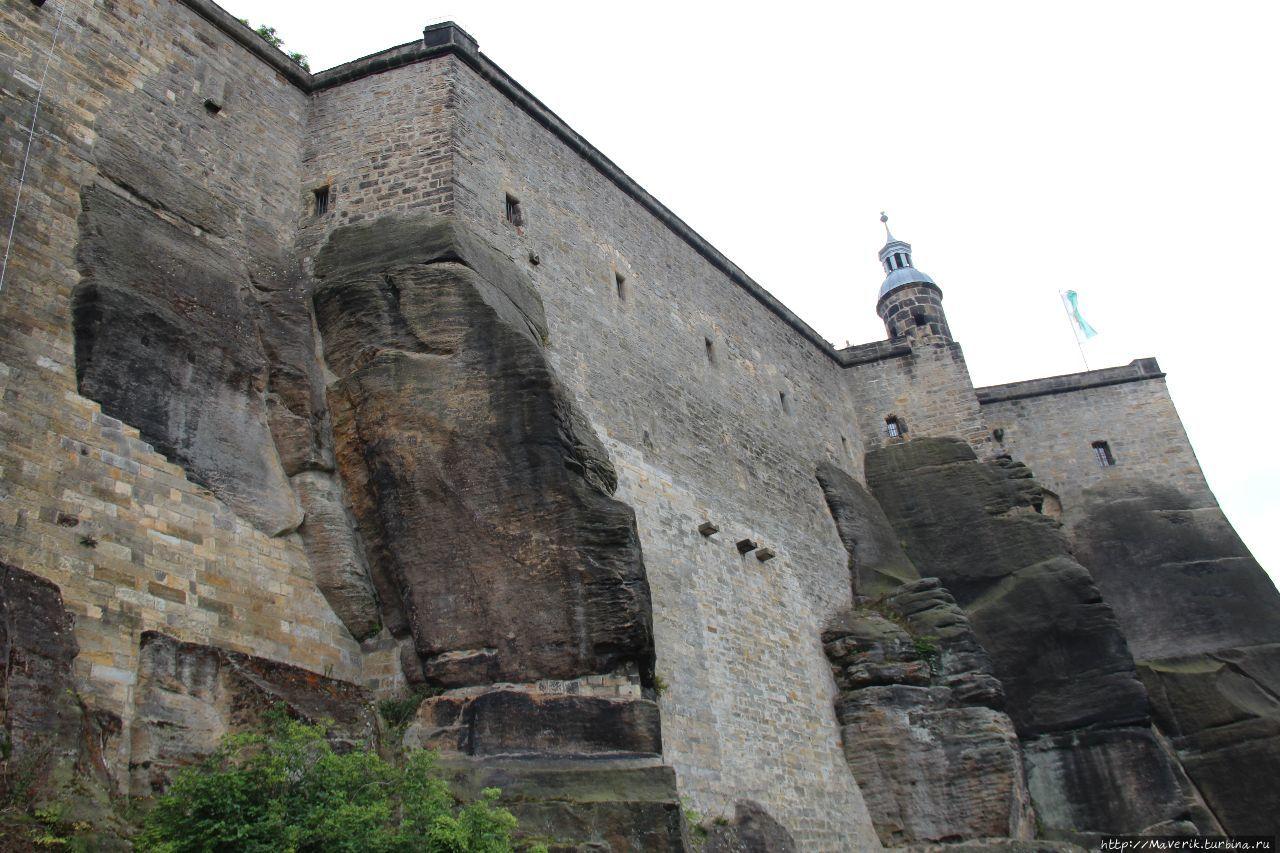 Неприступная крепость саксонских королей