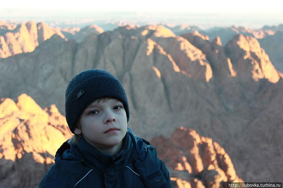 На вершине горы. Монастырь Святой Екатерины, Египет