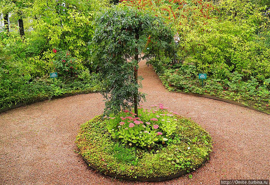 Собственный садик императрицы — бабушки королевской Европы Павловск, Россия