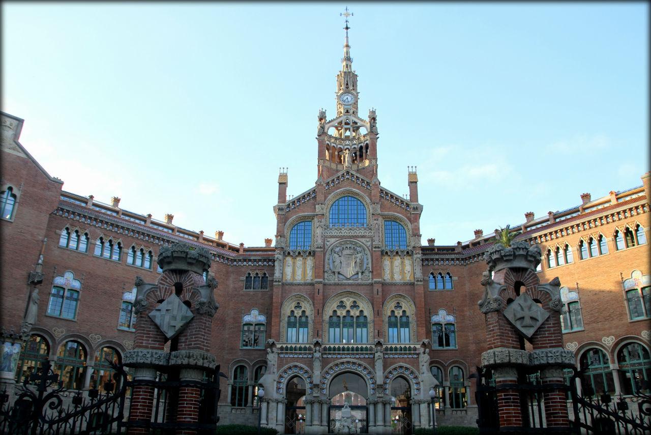 Объект ЮНЕСКО в Испании №27 — Больница Святого Павла