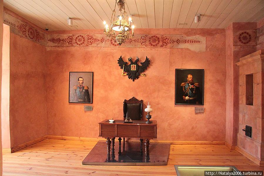 Замок во времена Российской империи