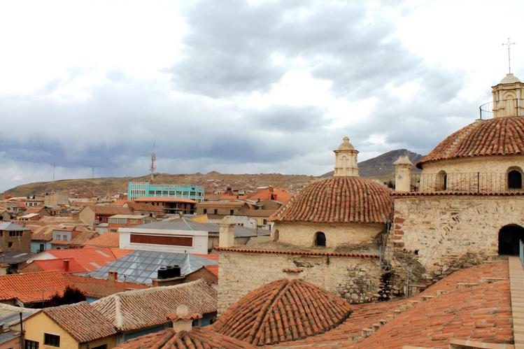 общий вид крыши храма