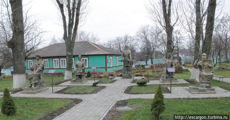 Скульптуры князей Киевско