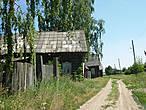 Дальше мы пока не рискнули ехать, и посетили жилую еще пока деревню-починок Лебедевский-Соколовский