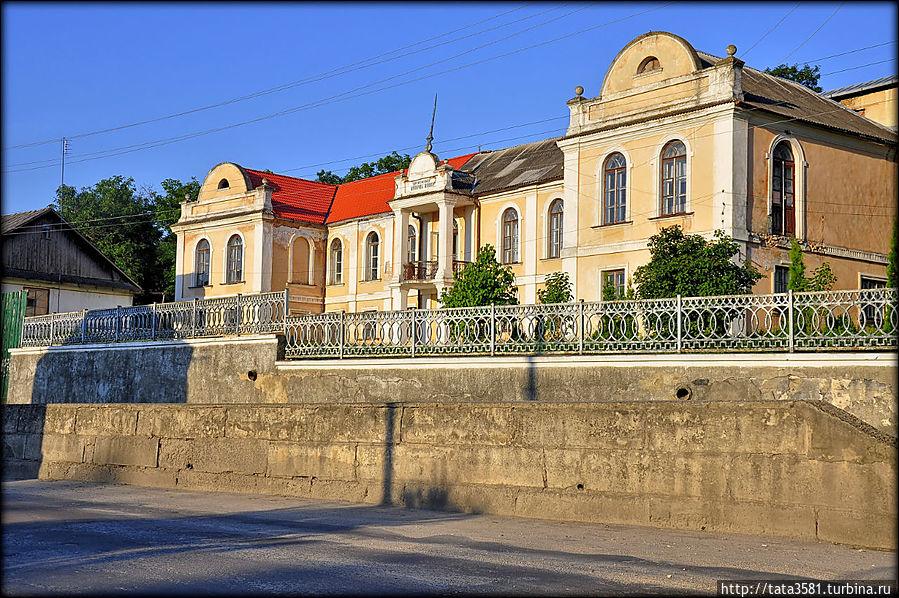 Дворец К. Дзембровской построен в стиле классицизма в 1750 г. Здание выдержано в романтическом стиле с элементами мавританского колорита. Вокруг виллы был разбит парк. В конце XIX в. усадьба принадлежала графу П. Демидову Кременец, Украина