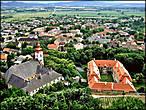 Вид на городок Шюмег с крепости
