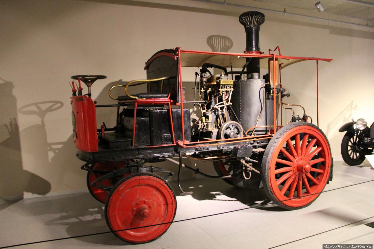 BIKKERS STEAM CAR  1907