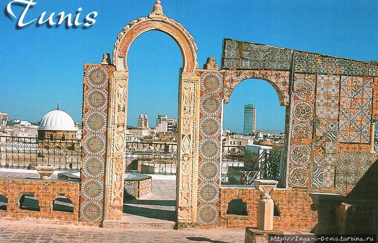 Террасы мечети Аль Зайтун