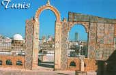 Террасы мечети Аль Зайтуна (открытка)