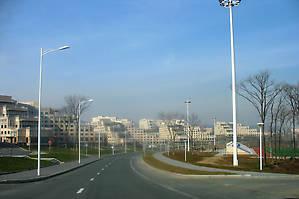 Территория кампуса ДВФУ.