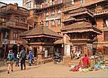 На одной из улиц Бхактапура