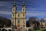 Этот собор, носящий имя покровительницы Суботицы, — один из двух храмов на территории Сербии, которым Папой римским был дарован почетный статус малой базилики. Собор барочного стиля с двумя башнями высотой 64 метра был построен в конце XVIII века венгерским архитектором Францем Кауфманном и до возведения ратуши считался самым высоким зданием в городе. Роспись храма была поручена мастерам из Мюнхена, Инсбрука и Загреба, создавшим красочные фрески, больше характерные для западноевропейских костелов, нежели для балканских католических церквей.