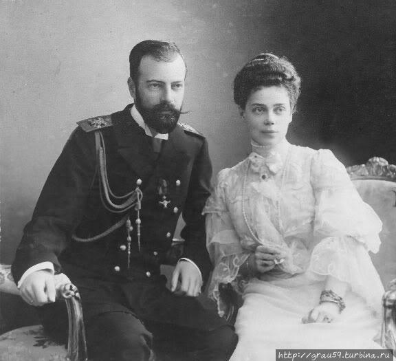 Великий князь Александр Михайлович и Великая княгиня Ксения Александровна (фото из Интернета)