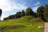 Шайкина гора на месте крепостной башни и шайка местных козочек :)