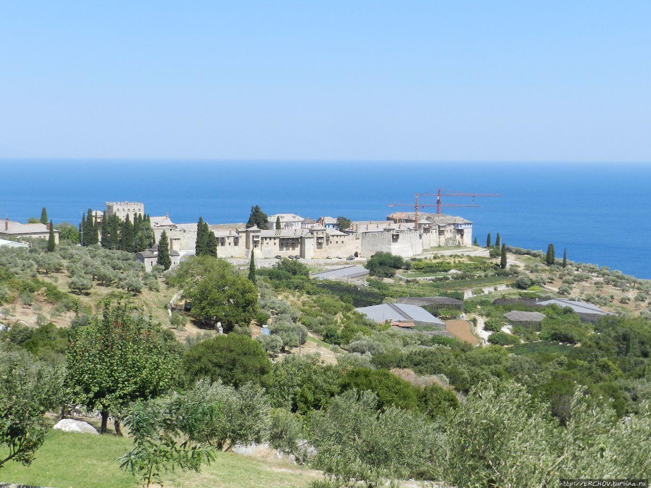 Великая Лавра — первый и главный монастырь Святой Горы