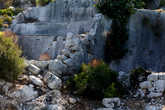 Стены римских бань.