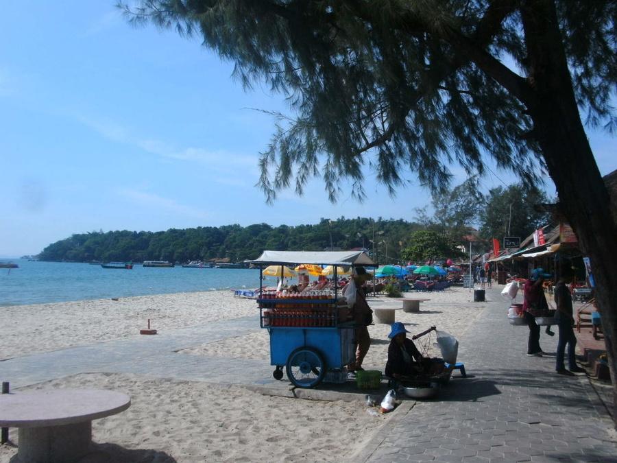 Камбоджа. Пляжи Сиануквиля. Сиануквиль, Камбоджа
