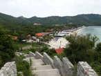 Пляж Самае. Вид со смотровой площадки