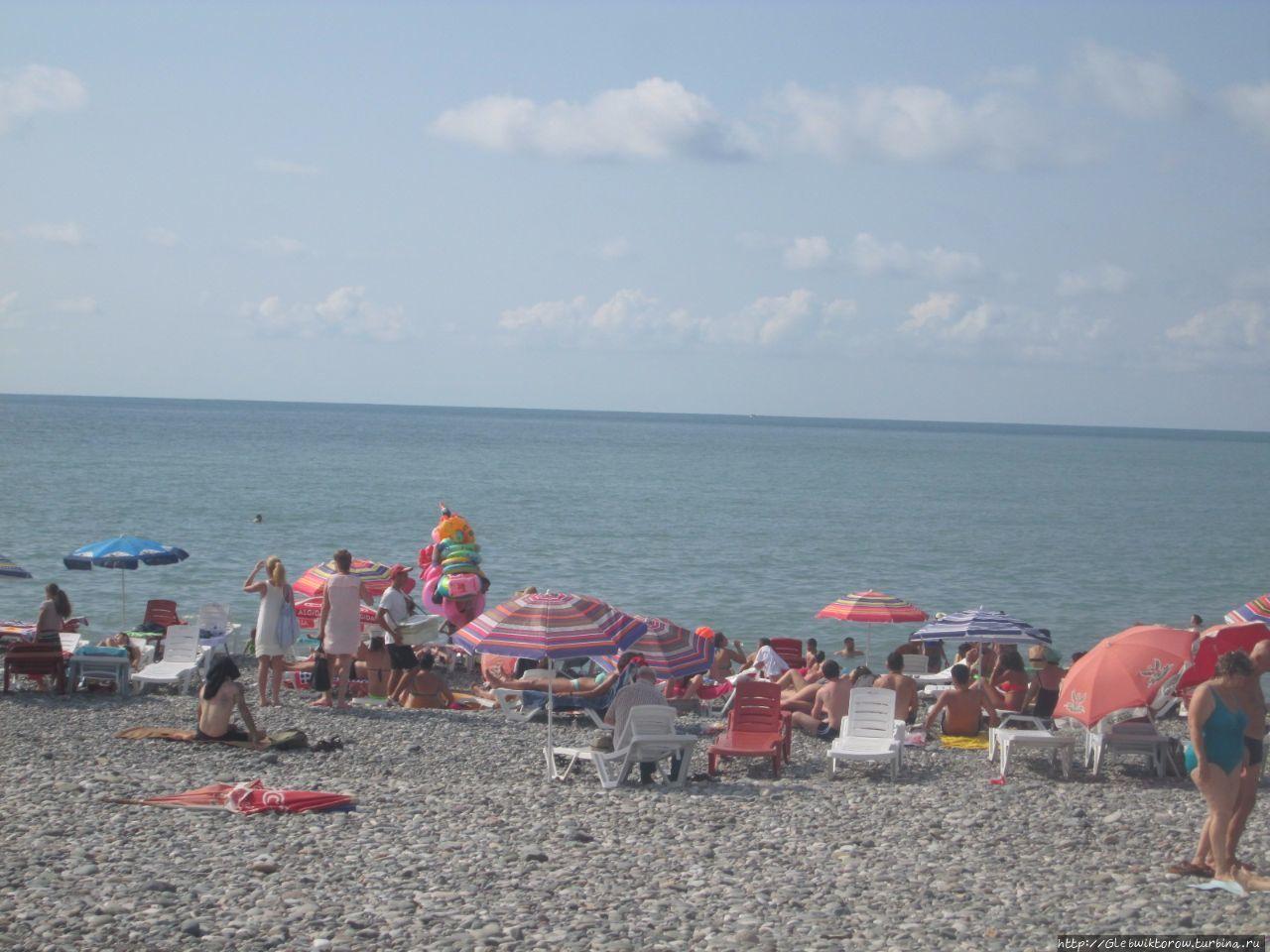 Пляжи батуми фото туристов