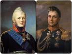 Император Александр Первый и граф М.С.Воронцов (фото из Интернета)