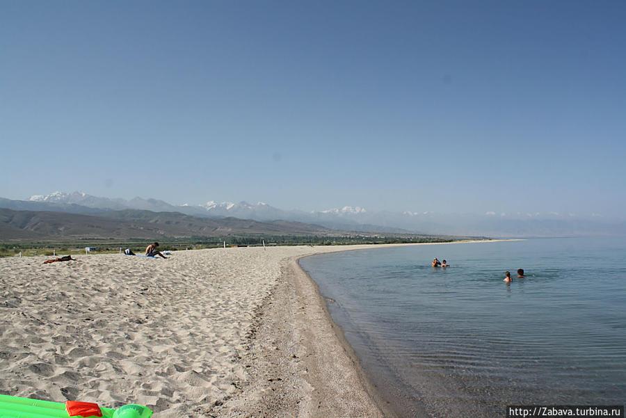 пляж до обеда пустой
