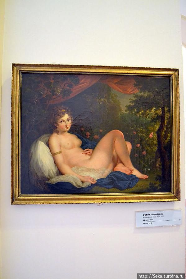 Янош Донат. Венера, 1810