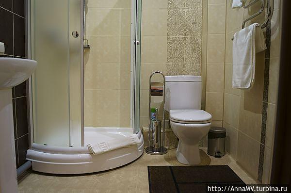 Номер 12 люкс, ванная