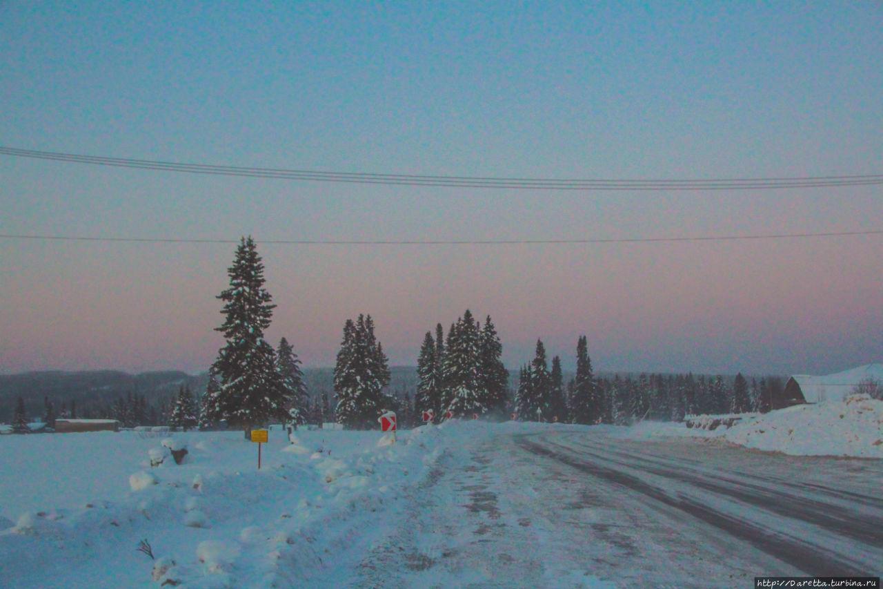 Маленькие сугробики... Зима... гора Колпаки гора Колпак (614м), Россия