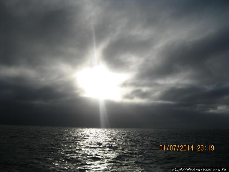 Закат на Мадейре