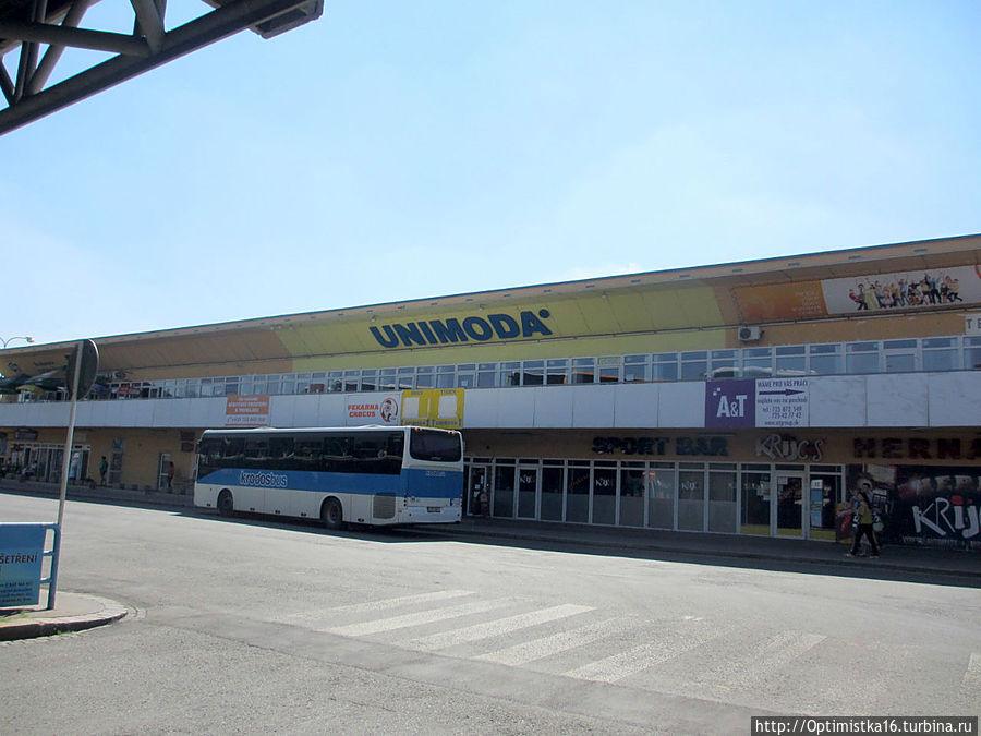 Автобусная станция Брно.