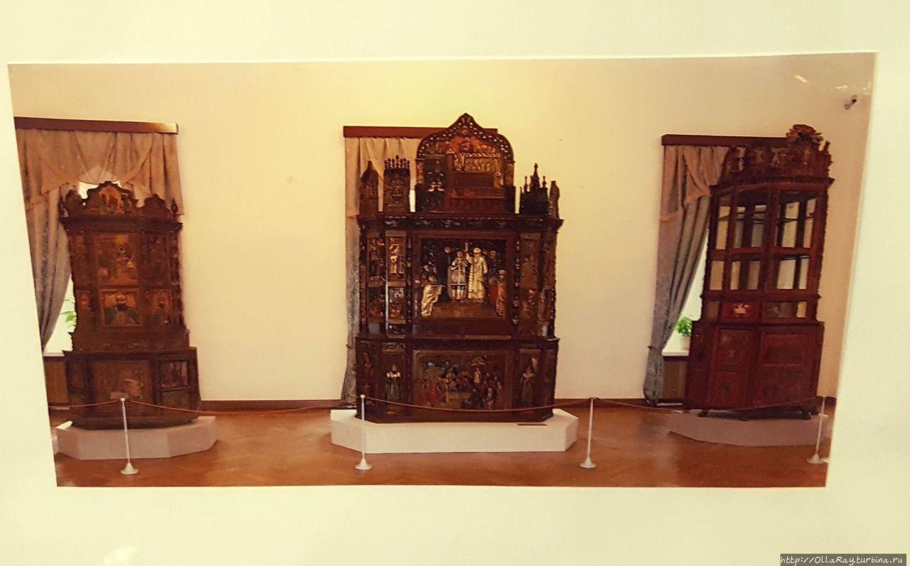 Снимок фото из музея.