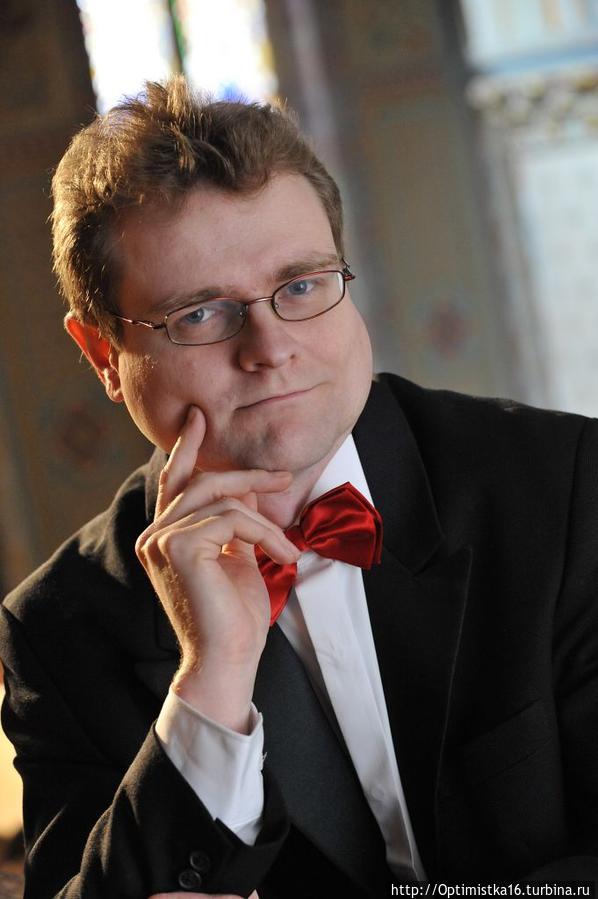 Павел Черный — органист (фото из интернета)