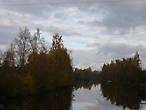 Окраина Сясьстроя, где было село Межутки