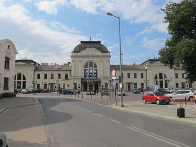 ЖД вокзал в Тарнове