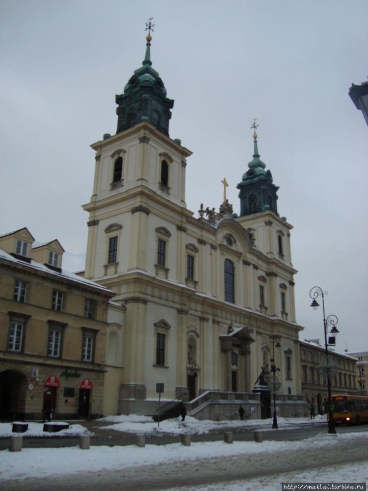 Костёл Святого Креста.