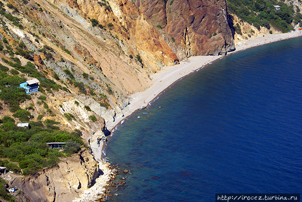 Места для отдыха дикарём в Крыму