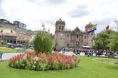 Плаза де Армас — главная площадь в Куско, древней столице империи Инков