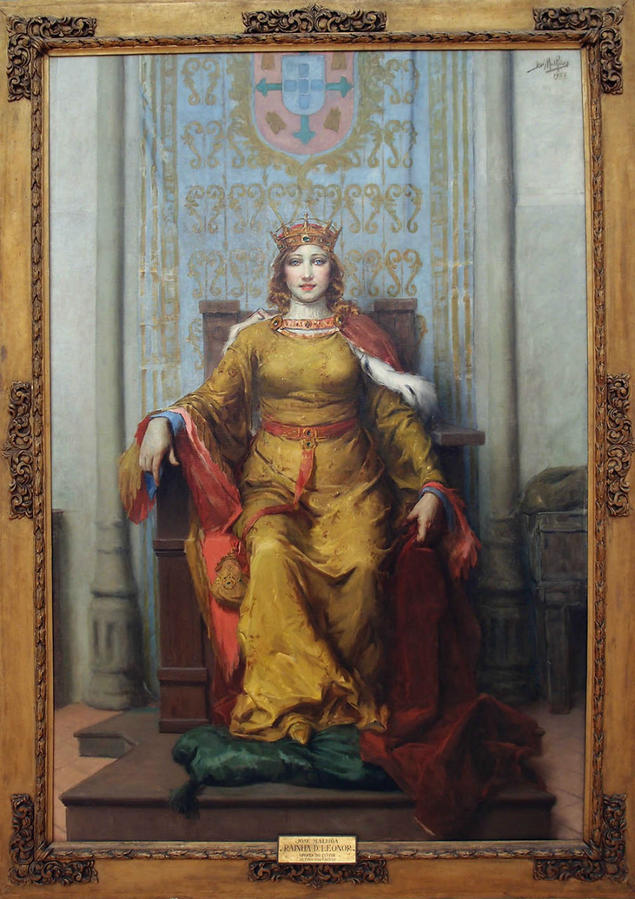 Королева Леонор — основательница Калдаш-да-Раиньи