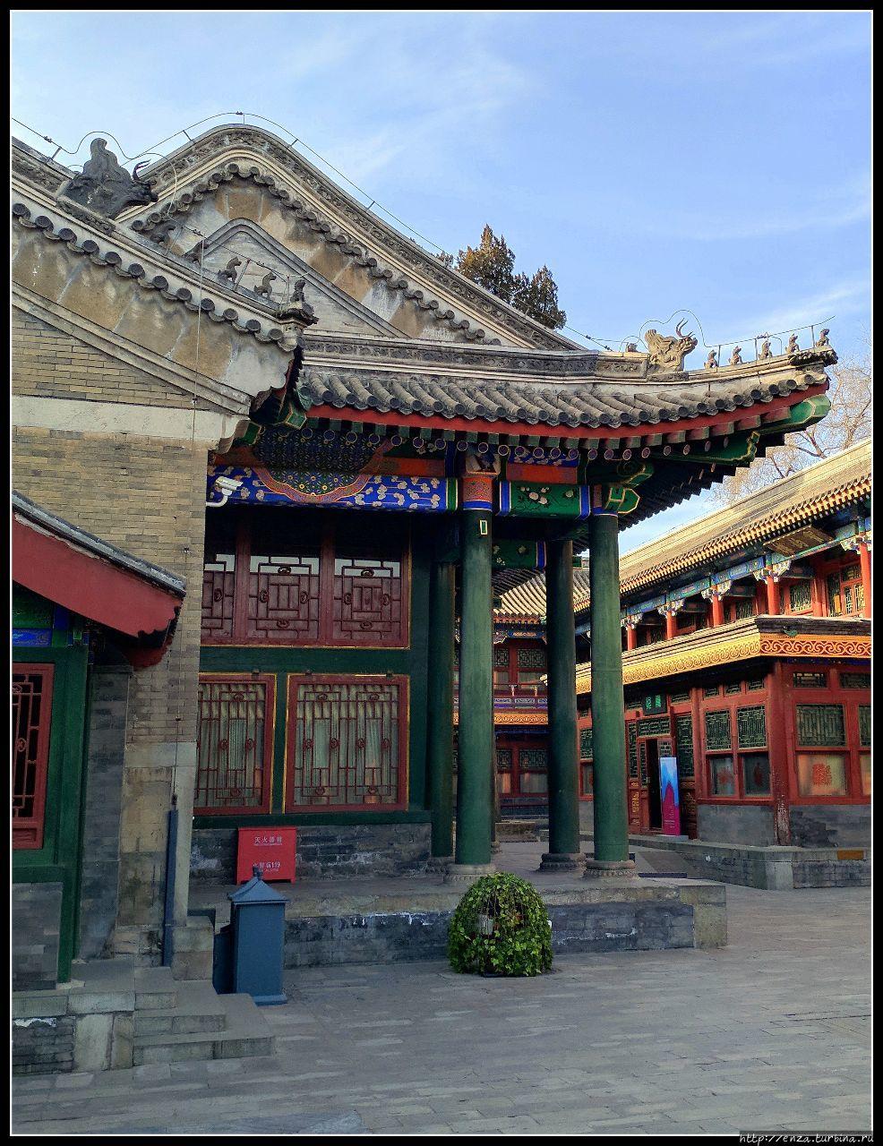 Гунванфу — один из самых красивых дворцов Пекина Пекин, Китай