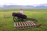 Летнее и зимнее средства передвижения исландцев