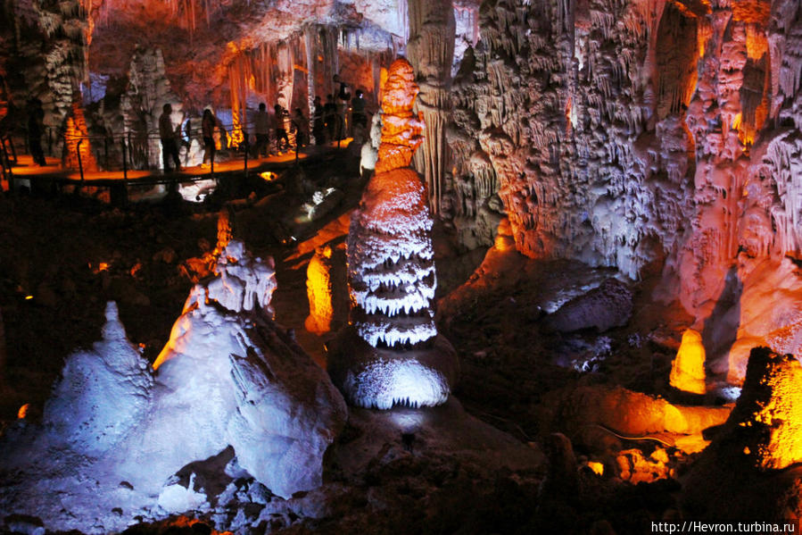 Сталактитовая пещера Авшалома или Сорек Бейт-Шемеш, Израиль