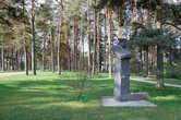 Памятник эстонскому писателю Хуго Раудсеппу