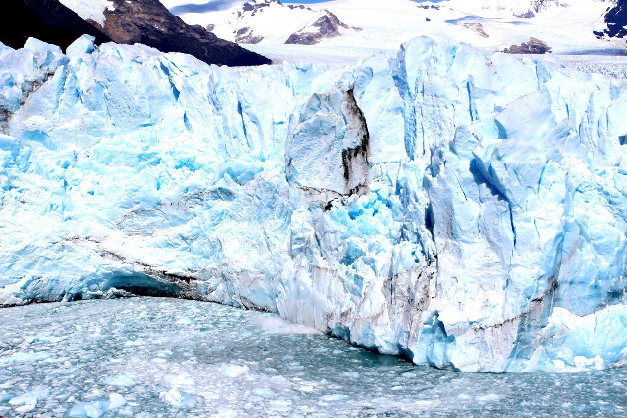 Ледник Перито Морено Лос-Гласьярес Национальный парк, Аргентина