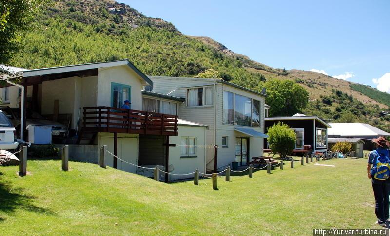 Жилые дома жителей Квинстауна Квинстаун, Новая Зеландия