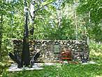 мемориал павшим во Второй Мировой войне на острове Крепыш